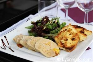 02 foie gras torchon harmonie des saveurs restaurant lyon L'harmonie des saveurs