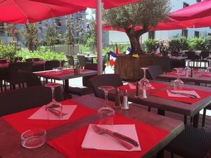 93 terrasse pation Lyon restaurant L'Italien de Lyon