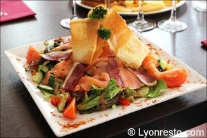 02 salade terre mer opus terreaux lyon restaurant L'Opus