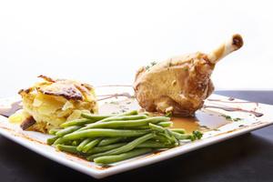 07 L ouvalie plat assiette brasserie L'ouvalie