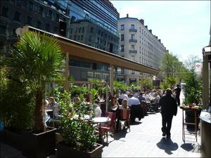 9 La brasserie du BA Terrasse La brasserie du BA