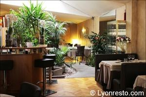 01 salle verdure deco restaurant brunoise villeurbanne La Brunoise