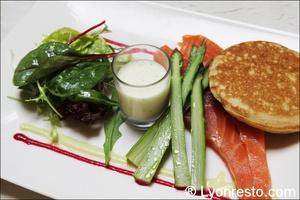 02 saumon fume maison restaurant brunoise villeurbanne La Brunoise