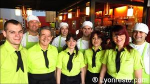 01 equipe restaurant la cantina italien pizzeria saint priest La Cantina