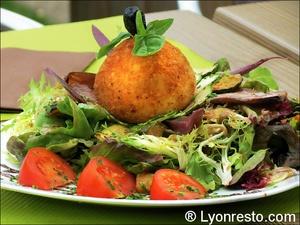 0113 arancini plat restaurant la cantina italien pizzeria saint priest La Cantina