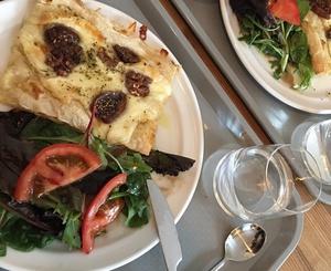 01 pizza salade la cantina de Lello La Cantina de Lello