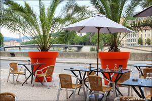 0001 terrasse restaurant conciergerie lyon La Conciergerie