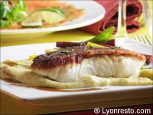 015 poisson plat la coquette retaurant lyon La Coquette