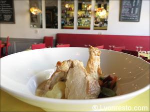 025 risotto poulet la coquette retaurant lyon  La Coquette