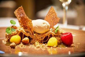 000356 Gentilhordiere dessert cuisine Lyon La Gentilhordière