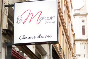 pancarte maioun La Maioun