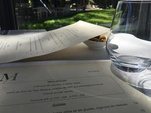 003 Menu restaurant Ecully La Maison d Anthouard  La Maison d'Anthouard