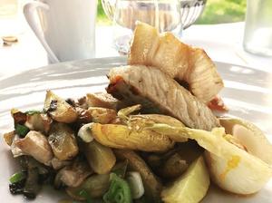 004 plat dejeuner restaurant Ecully La Maison d Anthouard  La Maison d'Anthouard