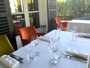 005 table restaurant La Maison d Anthouard  La Maison d'Anthouard
