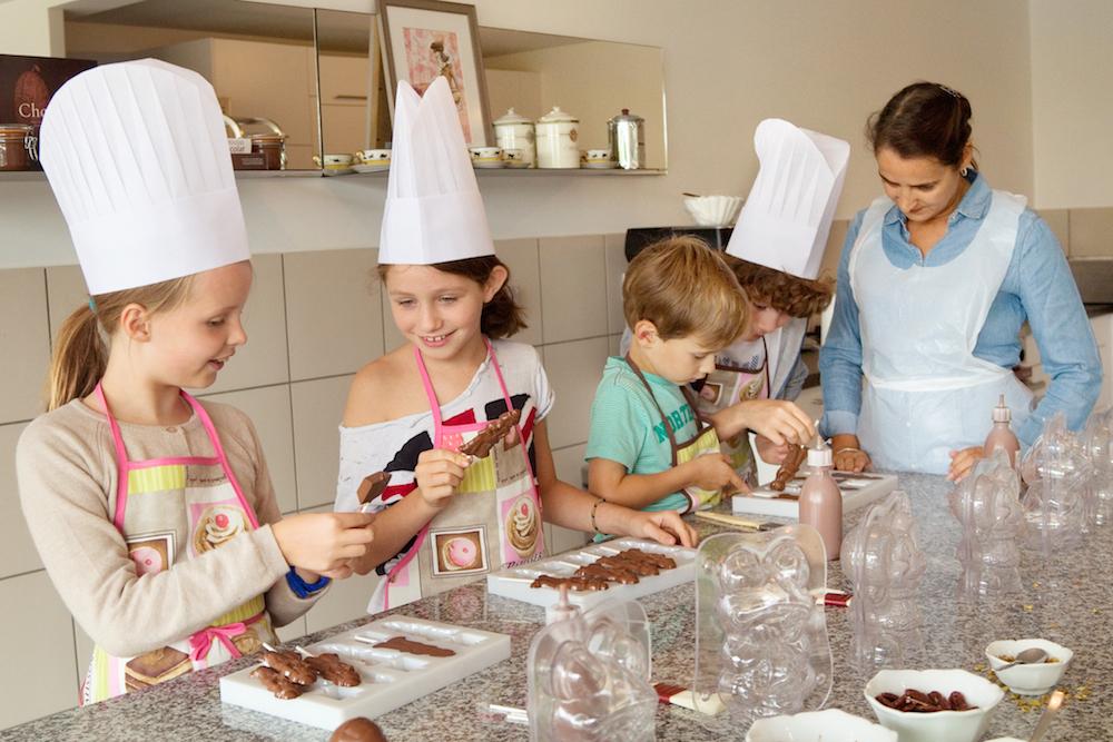 atelier enfants La Maison de Karen Chocolat