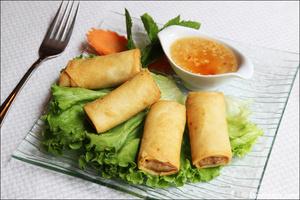 3 entree rouleaux nems plats restaurant maison thai cuisine thailandaise lyon La Maison Thaï