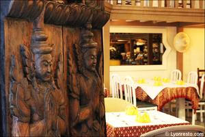4 salle deco restaurant maison thai cuisine thailandaise lyon La Maison Thaï