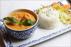 6 plat crevettes riz restaurant maison thai cuisine thailandaise lyon selection La Maison Thaï