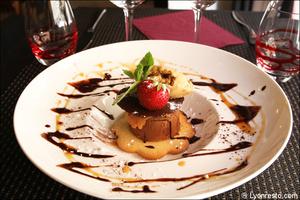 06 dessert chocolat caramel restaurant melodie du piano lyon La Mélodie du Piano