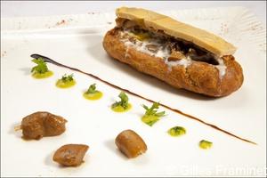22 eclair foie gras restaurant lyon la morille La Morille