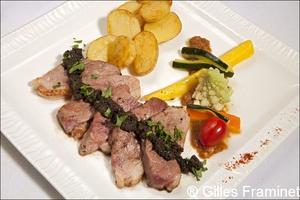 33 magret restaurant lyon la morille La Morille