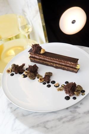 6 dessert chocolat restaurant la pyramide vienne La Pyramide - Vienne