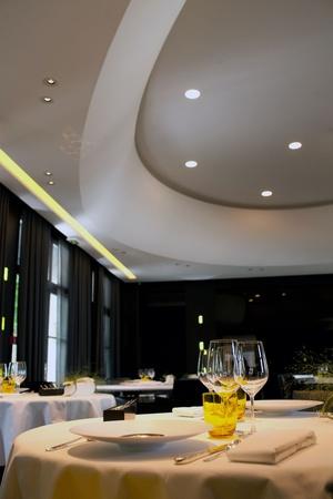 7 plafond assonorisant restaurant gastronomique la pyramide vienne La Pyramide - Vienne