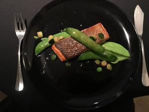 002 La Quintessence restaurant Lyon gastronomie plat poisson  La Quintessence