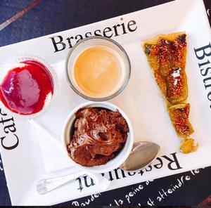 selection La ReServe cafe gourmand La Reserve