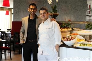 001 portrait restaurant lyon st priest rose des vents kyriad buffet gastronomique La Rose des Vents
