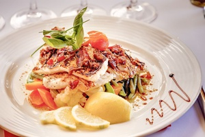 002 Storia Nostra Restaurant plat La storia nostra