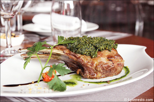 1 viande plat restaurant tassin la demi lune la suite selection La Suite