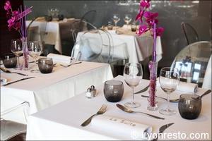 2 salle tables restaurant tassin la demi lune la suite La Suite