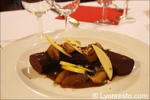 04 boudin restaurant bouchon lyonnais authentique tete de lard lyon La tête de lard