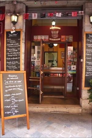 Photo  09-devanture-restaurant-bouchon-lyonnais-authentique-tete-de-lard-lyon.jpg La tête de lard