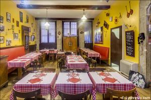 2 La tete de lard Lyon Restaurant Salle La tête de lard