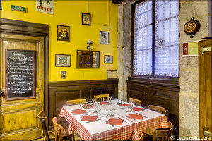 6 La tete de lard Lyon Restaurant Salle La tête de lard