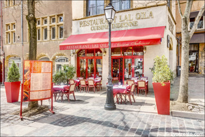 000 facade terrasse restaurant indien lal qila lyon Lal Qila