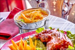 02 plat table restaurant indien lal qila lyon Lal Qila