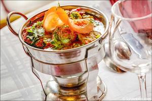 05 plat presentation marmitte restaurant indien lal qila lyon Lal Qila