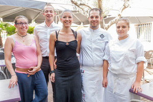 001 equipe chef le 109 restaurant Brasserie Decines Lyon Le 109