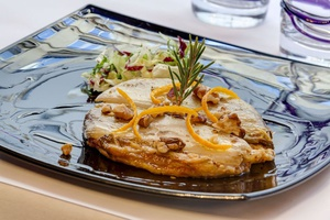 005 Le Bistrot d Arno restaurant Lyon 6 entree tatin endive Le Bistrot d'Arno
