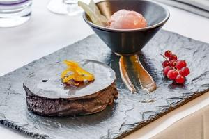 011 Le Bistrot d Arno restaurant Lyon 6 dessert succes chocolat Le Bistrot d'Arno