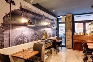 002 Le Bistrot du 6 eme restaurant cuvier Lyon salle decoration Le Bistrot du 6ème