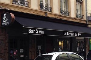 003 Le Bistrot du 6eme restaurant Lyon devanture Le Bistrot du 6ème