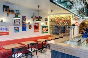 004 Le Bistrot du 6 eme restaurant cuvier Lyon salle Le Bistrot du 6ème
