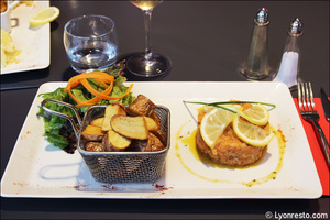 2 tartare saumon entree plat restaurant bistrot du theatre lyon Le Bistrot du Théâtre