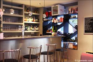 4 comptoir vins salle restaurant bistrot du theatre lyon Le Bistrot du Théâtre