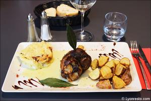5 plat viande restaurant bistrot du theatre lyon Le Bistrot du Théâtre