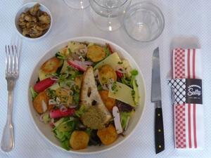 0 salade ete restaurant bouchon sully lyon Le Bouchon Sully